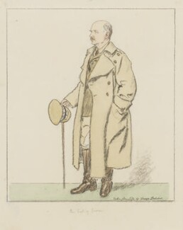 (Frederic) Rudolph Lambart, 10th Earl of Cavan, by George Belcher - NPG 6346