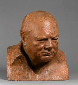 Winston Churchill, after Oscar Nemon, 1995, based on a work of circa 1955 - NPG 6347 - Photograph © National Portrait Gallery, London