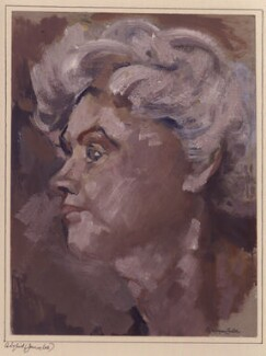 Jennie Lee, by Montague Leder - NPG 6348