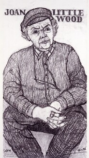 Joan Littlewood, by Peter Snow - NPG 6350