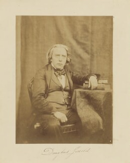 Douglas William Jerrold, by Hugh Welch Diamond - NPG P619