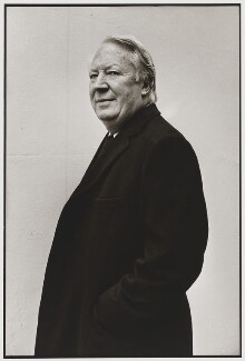 Sir Edward Heath, by Sally Soames - NPG P641