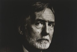Barry Unsworth, by Sally Soames - NPG P651
