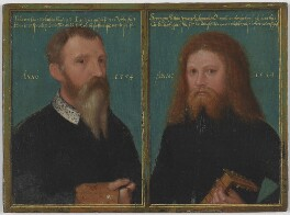 Gerlach Flicke; Henry Strangwish (Strangways), by Gerlach Flicke, 1554 - NPG  - © National Portrait Gallery, London