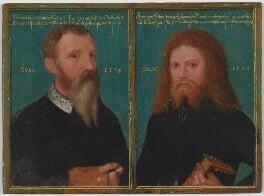 Gerlach Flicke; Henry Strangwish (Strangways), by Gerlach Flicke, 1554 - NPG 6353 - © National Portrait Gallery, London