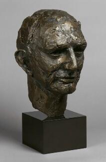 Sir (John) Grahame Douglas Clark, by Elisabeth Frink - NPG 6355