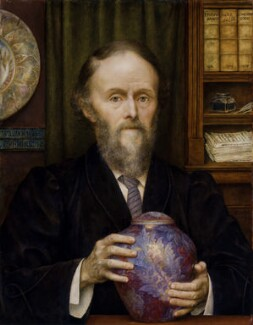 William De Morgan, by Evelyn De Morgan - NPG 6358