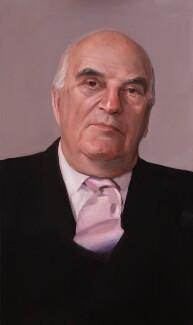 Arthur George Weidenfeld, Baron Weidenfeld, by Paul S. Benney - NPG 6360