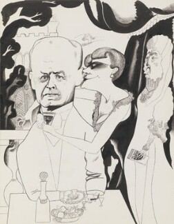 John Galsworthy, by Edward Burra - NPG 6368