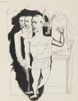 Sir Gerald Du Maurier, by Edward Burra - NPG 6369