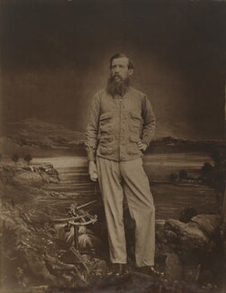 John Hanning Speke, by Southwell Brothers, 1863 - NPG P658 - © National Portrait Gallery, London