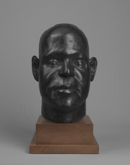 Harold Moody, by Ronald Moody, 1997, based on a work of 1946 - NPG  - © National Portrait Gallery, London