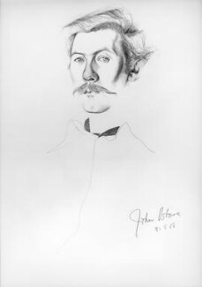 John Osborne, by Don Bachardy - NPG 6385