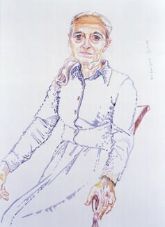 Ruth Prawer Jhabvala, by Don Bachardy - NPG 6373