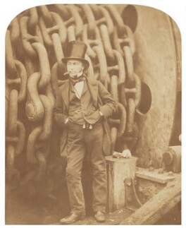 Isambard Kingdom Brunel, by Robert Howlett - NPG P662