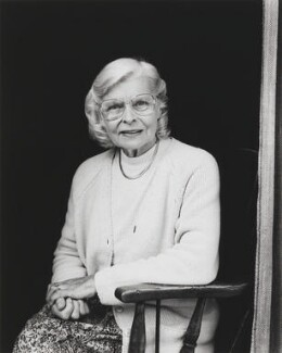 Dame Rosemary Rue (née Laurence), by Nick Sinclair - NPG P688
