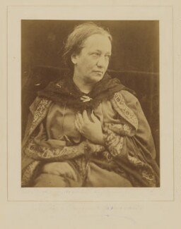 Julia Margaret Cameron, by Henry Herschel Hay Cameron (later The Cameron Studio) - NPG P696