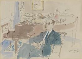 Richard Addinsell, by John Stanton Ward, 1960 - NPG 6391 - © estate of John Ward