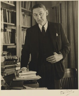 T.S. Eliot, by John Gay, 1948 - NPG P702 - © National Portrait Gallery, London