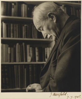 John Masefield, by John Gay, 1948 - NPG P703 - © National Portrait Gallery, London