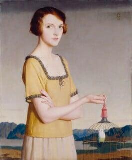 Winifred Radford, by Meredith Frampton - NPG 6397