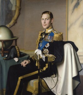 King George VI, by Meredith Frampton - NPG L214