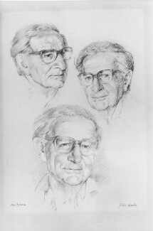 Hans Jürgen Eysenck, by Peter Wardle - NPG 6407