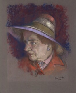 Enid Mary Starkie, by Peter Wardle - NPG 6408