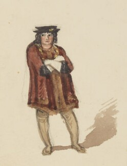 Charles John Kean, by Jemima Blackburn (née Wedderburn) - NPG 2772(33a)