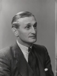 David George Brownlow Cecil, 6th Marquess of Exeter, by Elliott & Fry, 9 October 1943 - NPG x86555 - © National Portrait Gallery, London