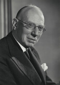 James Scott Cumberland Reid, Baron Reid, by Walter Bird - NPG x87644