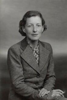 Frances Annesley Donaldson (née Lonsdale), Lady Donaldson of Kingsbridge, by Elliott & Fry - NPG x89083