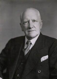 Sir Tom Eastham, by Elliott & Fry - NPG x89138