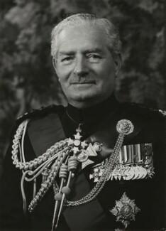Sir George Watkin Eben James Erskine, by Elliott & Fry - NPG x89191