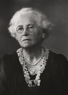 Dame Evelyn Emily Marion Fox, by Elliott & Fry, 1947 - NPG x89274 - © National Portrait Gallery, London