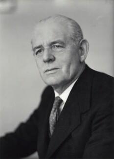 Sir Lionel Wray Fox, by Elliott & Fry - NPG x89276