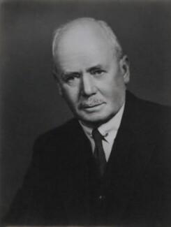 Sir Lionel Goodenough Taylor, by Elliott & Fry - NPG x89441