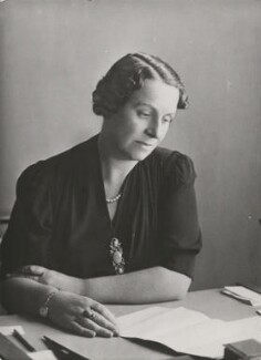 Dame Caroline Harriet Haslett, by Elliott & Fry - NPG x89648