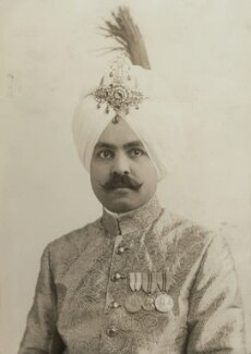Sirdar Charanjit Singh of Kapurthala, by Elliott & Fry - NPG x90078