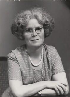 Dame Kathleen Lonsdale (née Yardley), by Elliott & Fry - NPG x90358