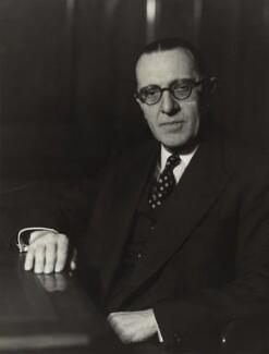 Walter Monckton, 1st Viscount Monckton, by Elliott & Fry - NPG x90670