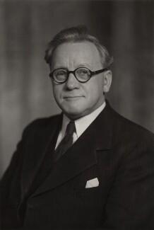 Herbert Stanley Morrison, Baron Morrison of Lambeth, by Elliott & Fry - NPG x90724