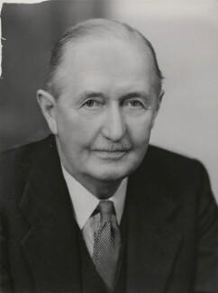 Sir Victor Ewings Negus, by Elliott & Fry - NPG x90762