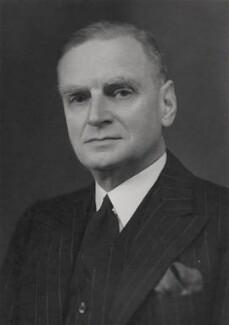 Sir Kenneth William Murray Pickthorn, 1st Bt, by Elliott & Fry - NPG x90997