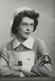 Elizabeth Ker Gray (née Macallan), by Elliott & Fry - NPG x90998