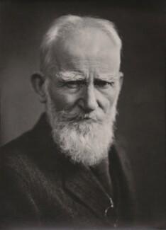 George Bernard Shaw, by Elliott & Fry - NPG x91387