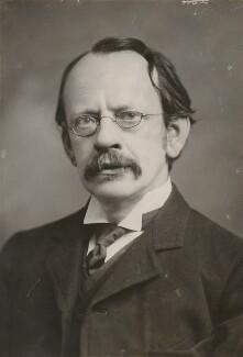 Sir Joseph John Thomson, by Elliott & Fry - NPG x91564
