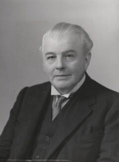 Sir Godfrey Russell Vick, by Elliott & Fry - NPG x91598