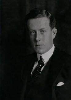 Victor Alexander George Anthony Warrender, 1st Baron Bruntisfield of Boroughmuir, by Elliott & Fry - NPG x91690