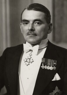 Sir Frank Whittle, by Elliott & Fry - NPG x91820